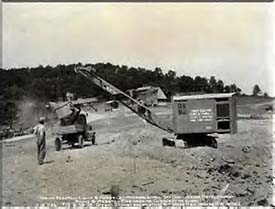 State of the Art Steamshovel
